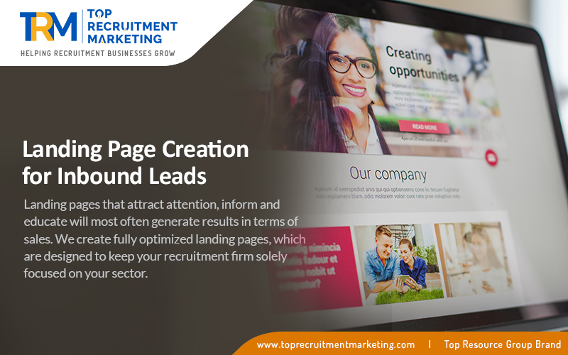 Recruitment Landing Page Creation