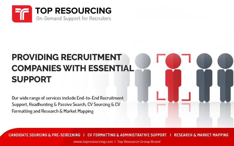 At Top Resourcing, we provide Recruitment Support Services to Recruitment Agencies.